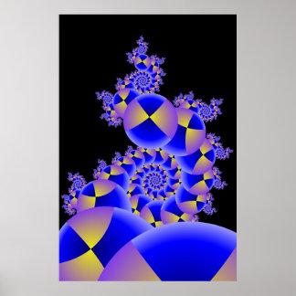 Illuminated Spheres III Poster