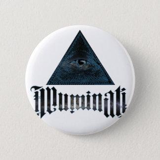 Illuminati 6 Cm Round Badge
