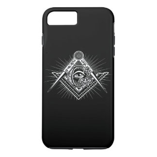 Illuminati All Seeing Eye Freemason Symbol iPhone 8 Plus/7 Plus Case