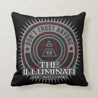Illuminati Are Watching Don't Trust Anyone Cushion