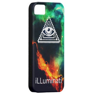 illuminati barely there iPhone 5 case