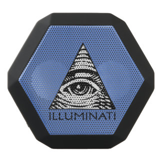 Illuminati Black Bluetooth Speaker