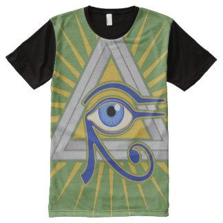 Illuminati Eye All-Over Print T-Shirt