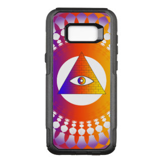 Illuminati Eye alternative OtterBox Commuter Samsung Galaxy S8+ Case