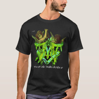 ILLUMINATI GRAFFITI CHERUBS 11:11 limited edit DMT T-Shirt