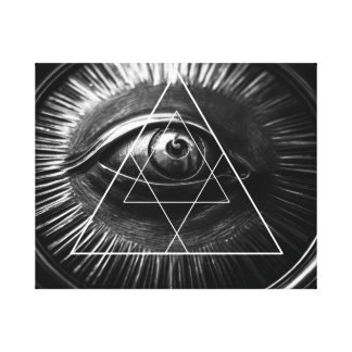 Illuminati Graphic Canvas Print