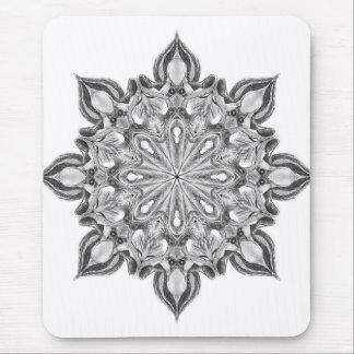 Illuminati greys alien owl medallion mouse pad