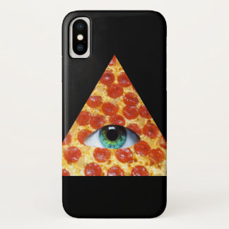Illuminati Pizza iPhone X Case