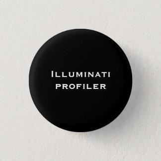 Illuminati profiler 3 cm round badge