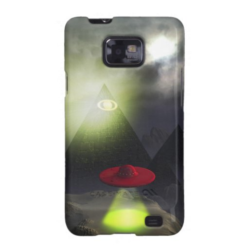 Illuminati Pyramid and UFO Case Samsung Galaxy S2 Covers