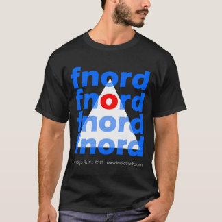 Illuminati Pyramid - Big Dark Fnord T-Shirt