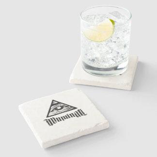Illuminati Stone Coaster