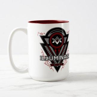 Illuminati We See You All Seeing Eye Two-Tone Coffee Mug