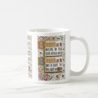 Illumination: Blessed the Merciful & Pure in Heart Coffee Mug
