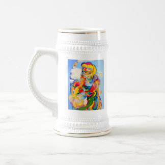 Illumination, Justice and Fertility Beer Stein