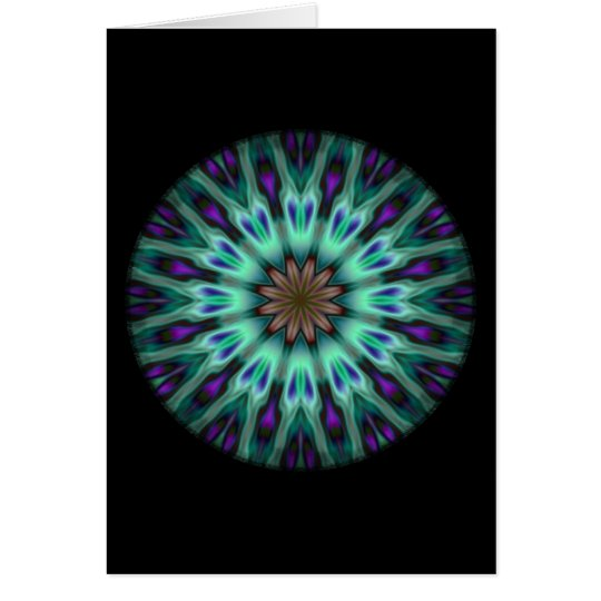 Illuminous Spirograph Card
