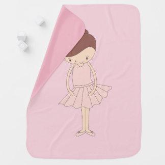 illusima Isabella Ballerina Baby Blanket