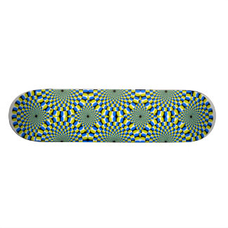 Illusion Board Skate Board Deck