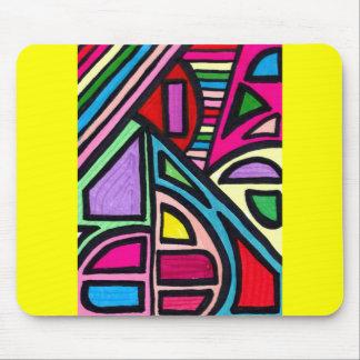 Illusion Maze Mouse Pads