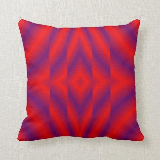 Illusions Modern Pillow-Home Decor-Purple/Red Cushion