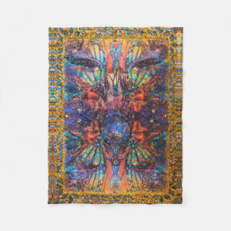 Illusions of Matter by Deprise Fleece Blanket