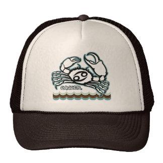 Illustrated Cancer  Zodiac Shirt Mesh Hat