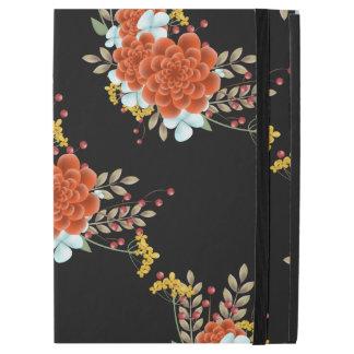 """Illustrated Flowers & Laurel Leaves iPad Pro 12.9"""" Case"""