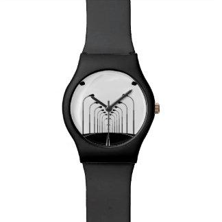 Illustrated Freeway Lights Wrist Watch
