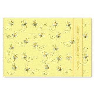 Illustrated Honey Bee Tissue Paper
