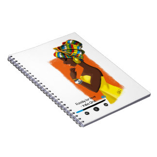 Illustrated notebook African Queen