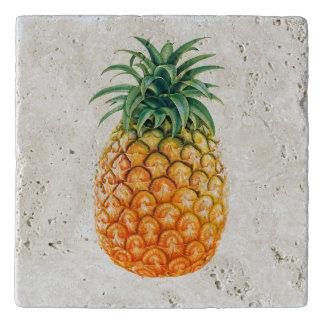 Illustrated Pineapple design Trivet