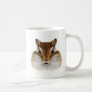 Illustrated portrait of Chipmunk. Coffee Mug