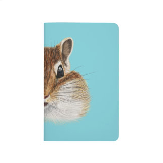 Illustrated portrait of Chipmunk. Journal