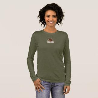 Illustrated portrait of Chipmunk. Long Sleeve T-Shirt