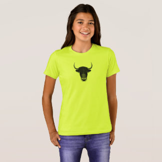 Illustrated portrait of Domestic yak. T-Shirt