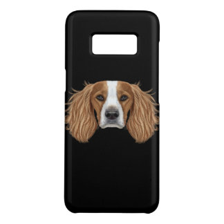 Illustrated Portrait of English Springer Spaniel. Case-Mate Samsung Galaxy S8 Case