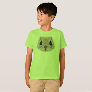 Illustrated portrait of Flying squirrel. T-Shirt