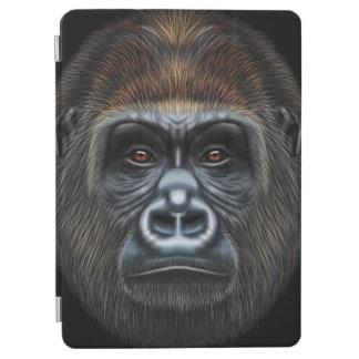 Illustrated portrait of Gorilla male. iPad Air Cover