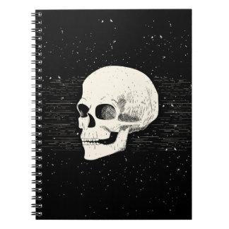 Illustrated Skull | Spiral Notebook