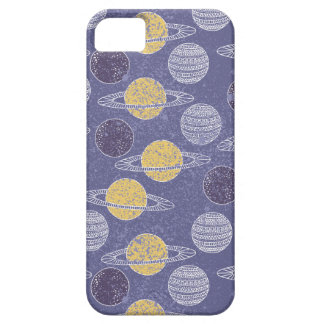 Illustrated Space Pattern iPhone 5 Case