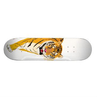 Illustrated Tiger Skate Board