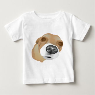 Illustrated vector portrait of a little dog baby T-Shirt