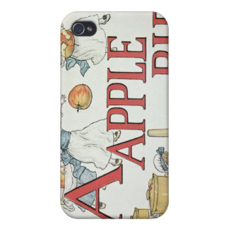 Illustration 'A' from 'Apple Pie Alphabet' Covers For iPhone 4