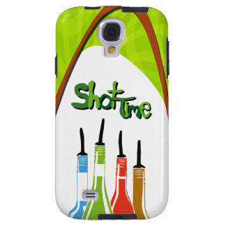 Illustration Alcohol bottles at a bar Galaxy S4 Case