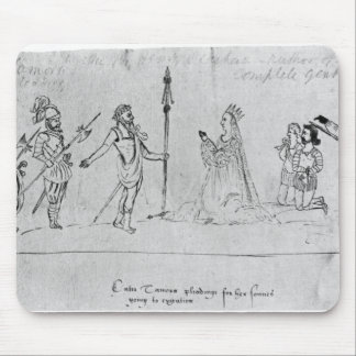 Illustration Andronicus, by William Mouse Pad