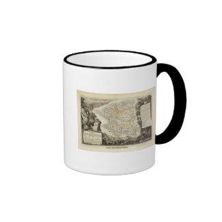 Illustration Atlas Maps Ringer Mug