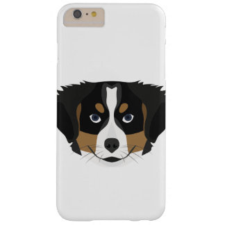 Illustration Bernese Mountain Dog Barely There iPhone 6 Plus Case