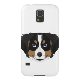 Illustration Bernese Mountain Dog Case For Galaxy S5