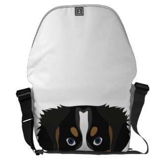 Illustration Bernese Mountain Dog Commuter Bag