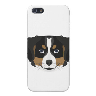 Illustration Bernese Mountain Dog Cover For iPhone 5/5S